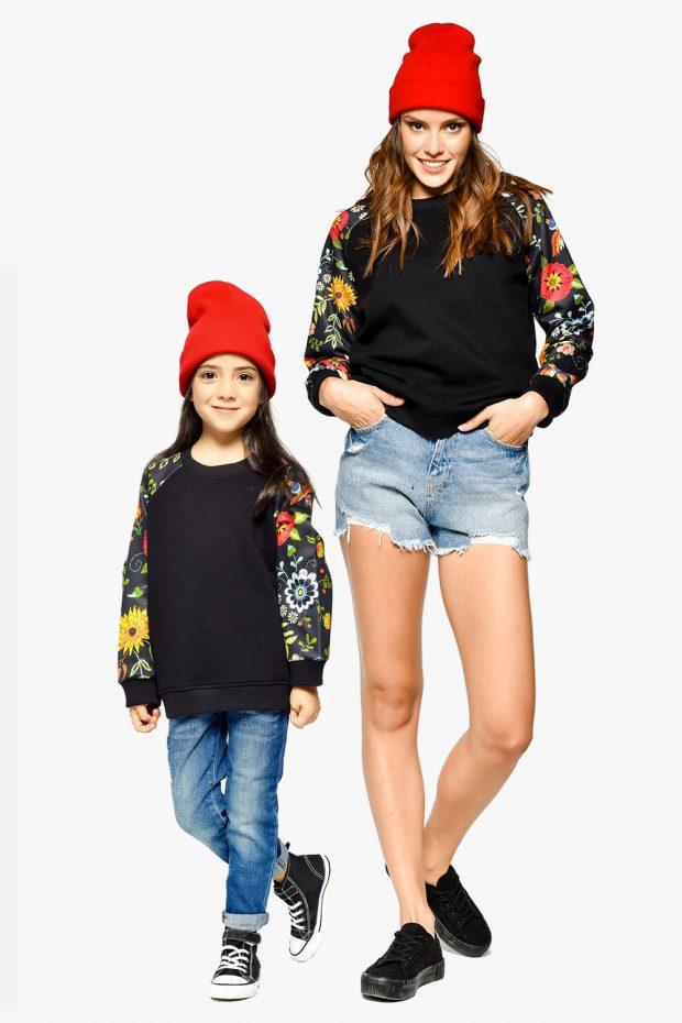 Kids Sweatshirt FLOWER POWER