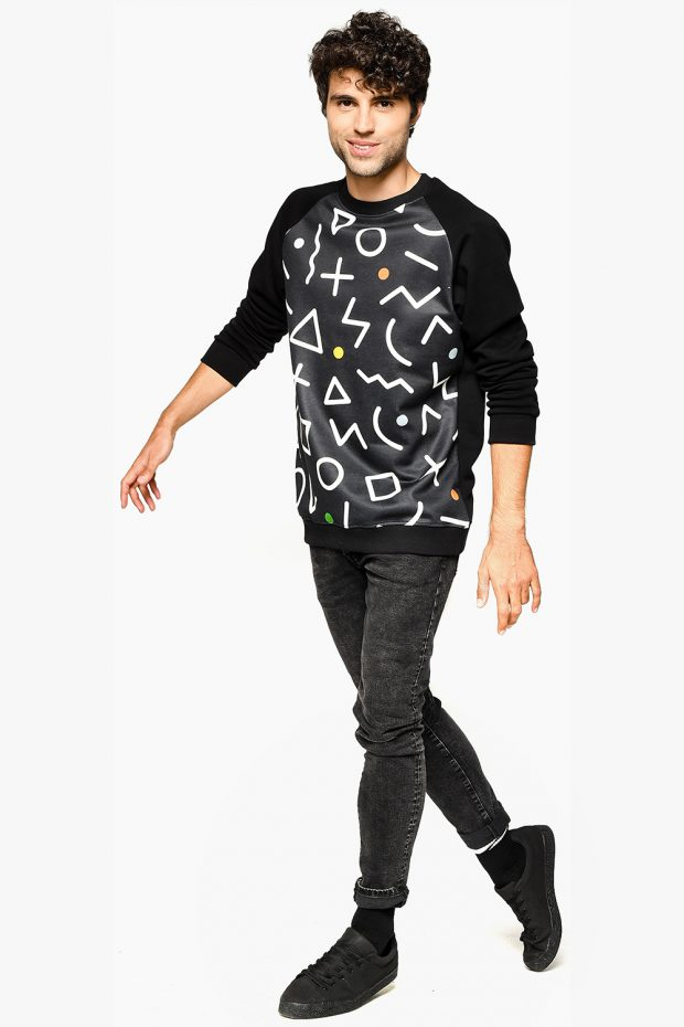 Men's Sweatshirt ALGO