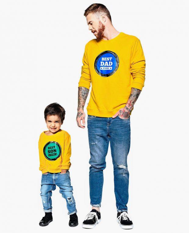 Men's Sweatshirt BEST DAD EVER