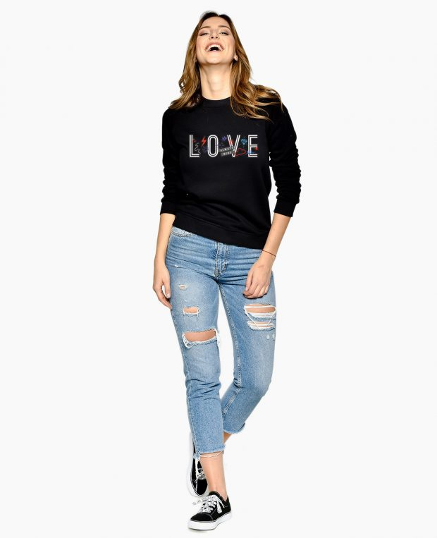Women's Sweatshirt LOVE WINS