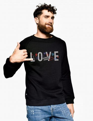 Men's Sweatshirt LOVE WINS