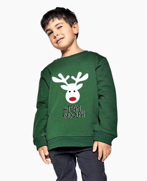 Kids Sweatshirt HAPPY RUDOLF