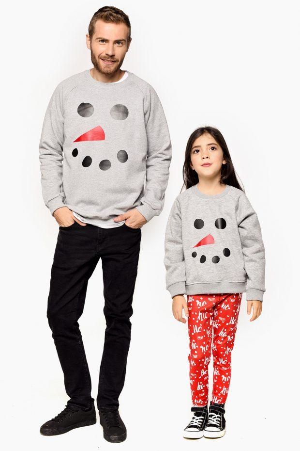 Kids Sweatshirt SNOWMAN