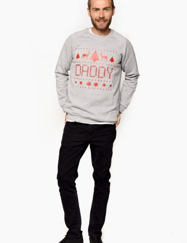 Men's Christmas Sweatshirt DADDY