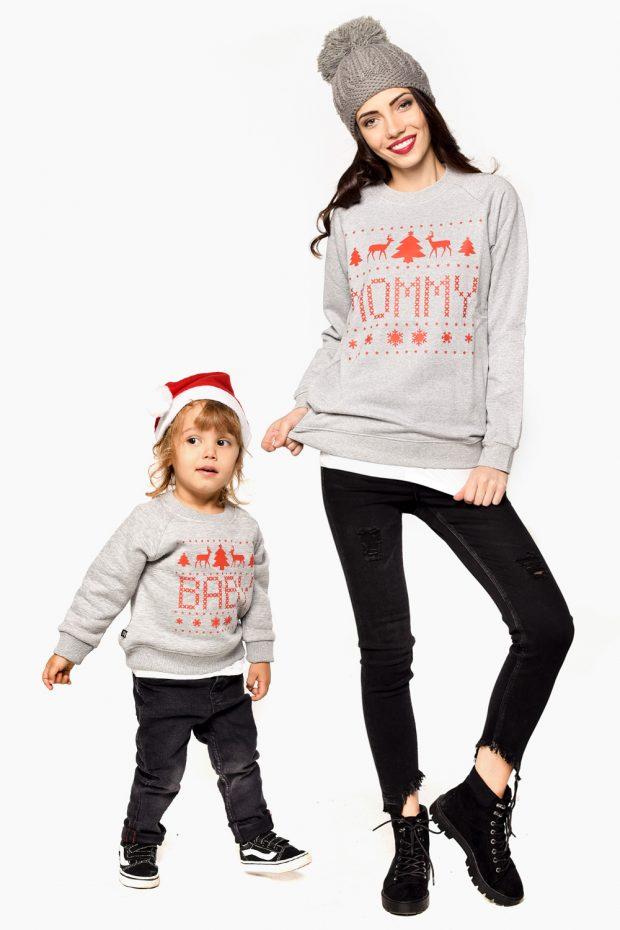 Women's Christmas Sweatshirt MOMMY