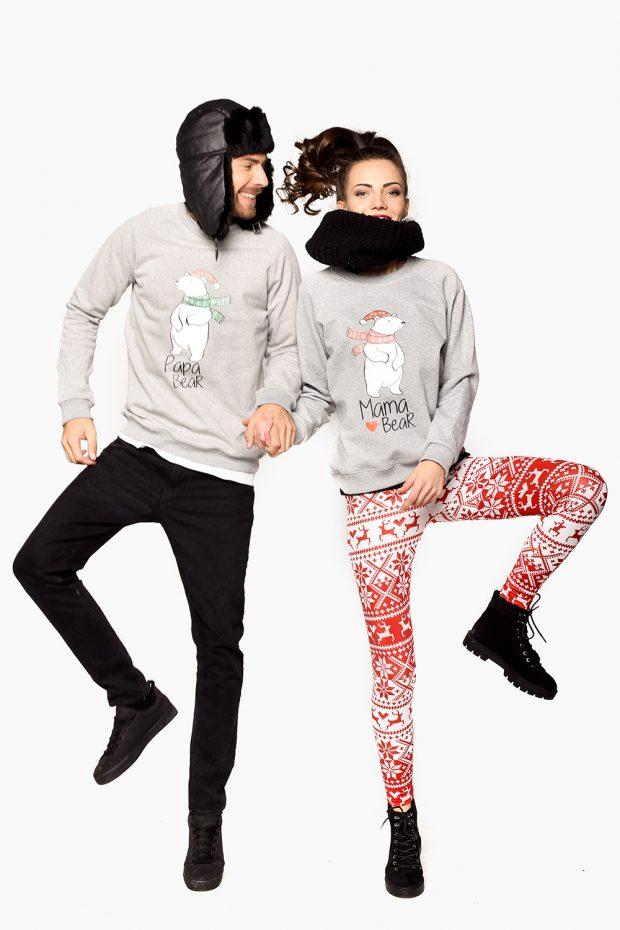 Women's Sweatshirt BEAR MOM
