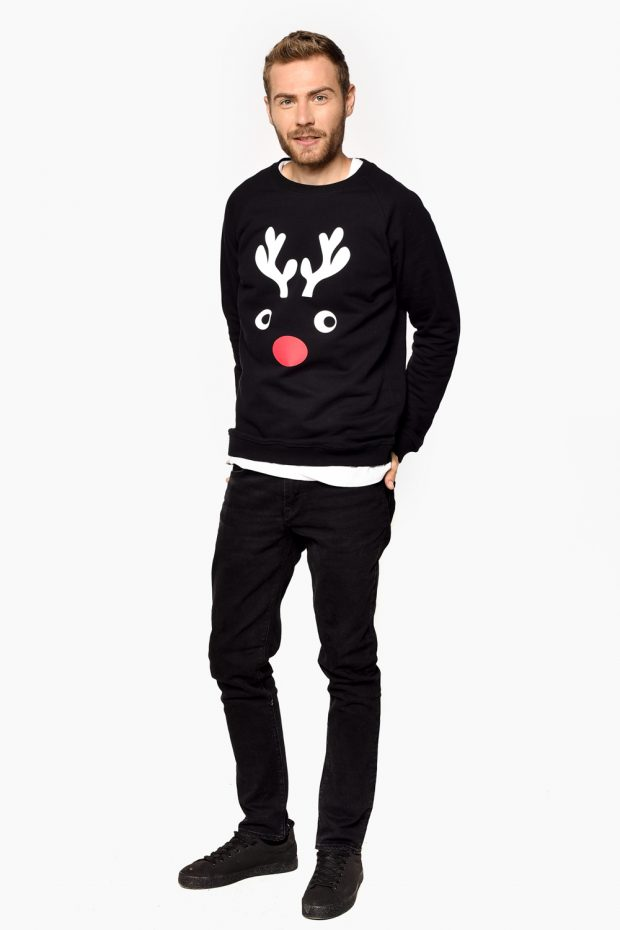 Men's Sweatshirt HORNS