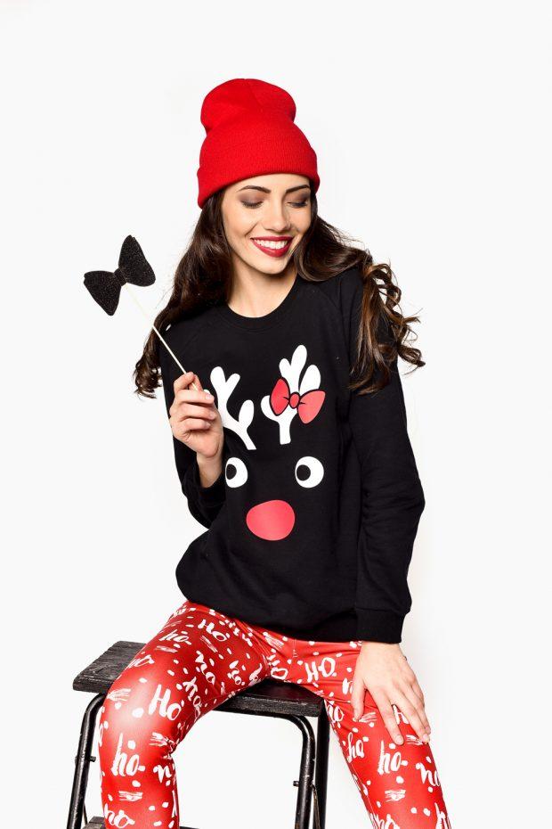 Women's Sweatshirt HORNS