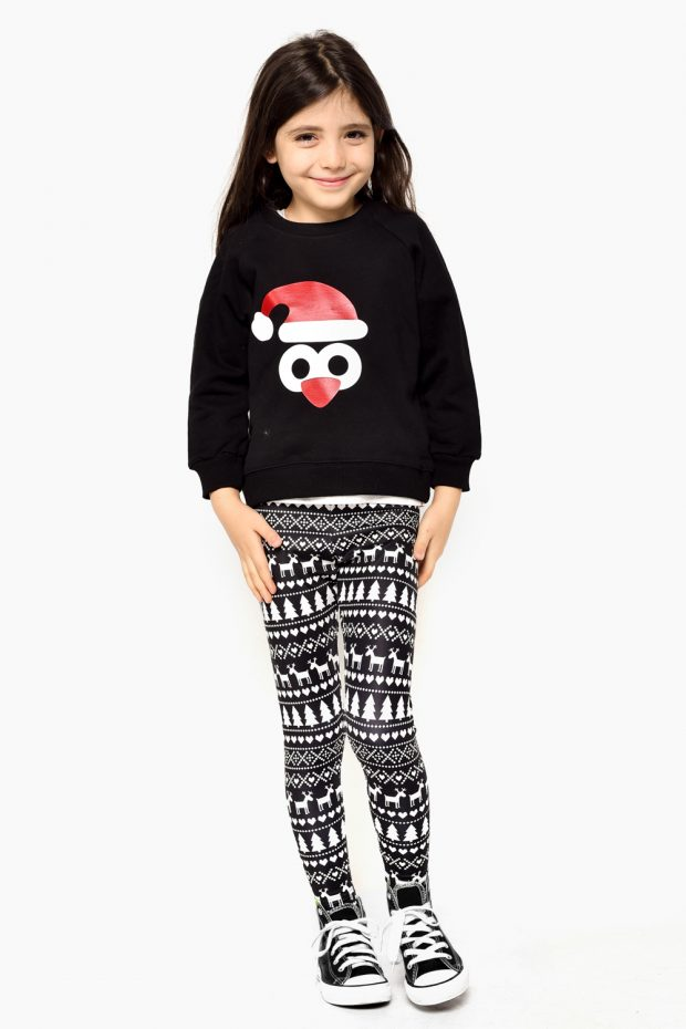 Kids Holiday Jersey PENGUIN