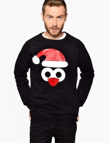 Men's Holiday Jersey PENGUIN