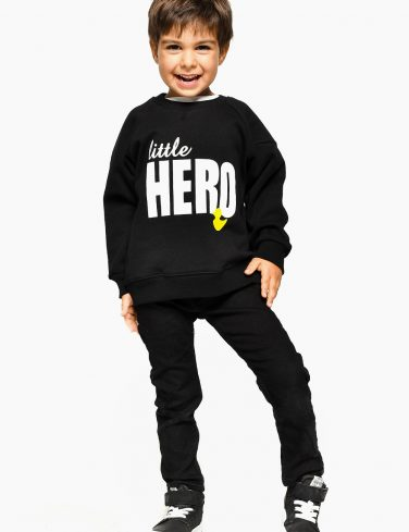 Boys Sweatshirt LITTLE HERO