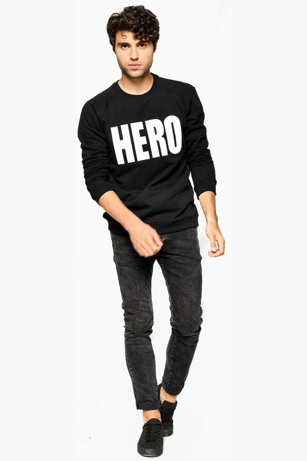 Men's Sweatshirt HERO