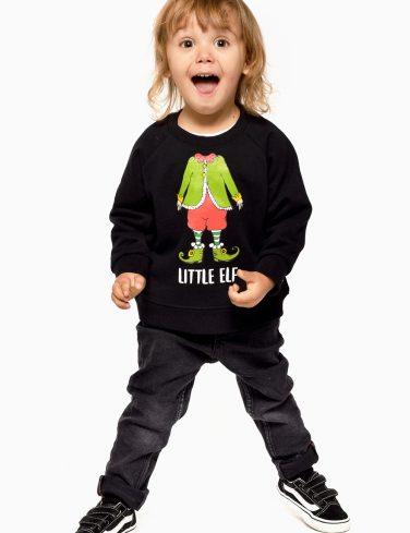 Kids Christmas Jumper ELF