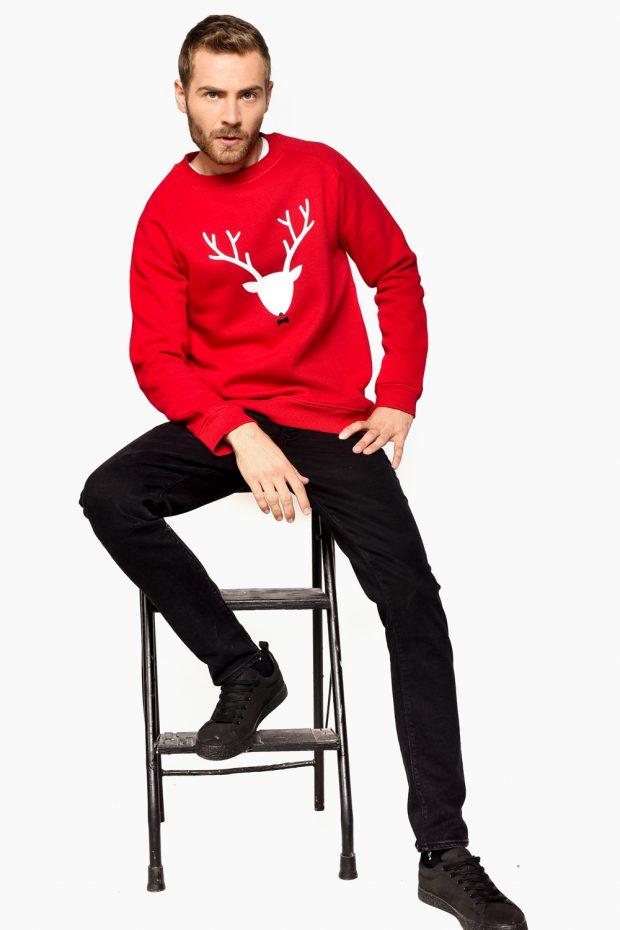 Men's Sweatshirt DEER