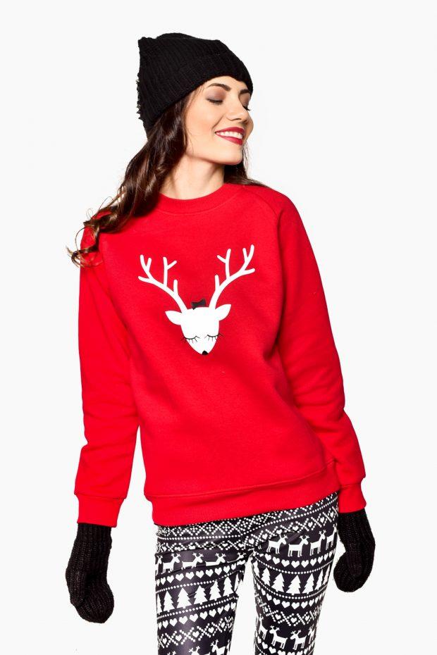 Women's Sweatshirt DEER