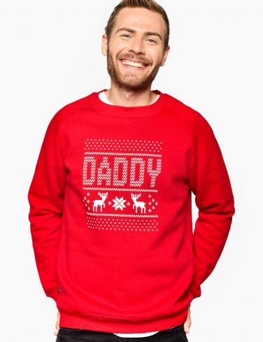 Men's Sweatshirt X-MAS DADDY