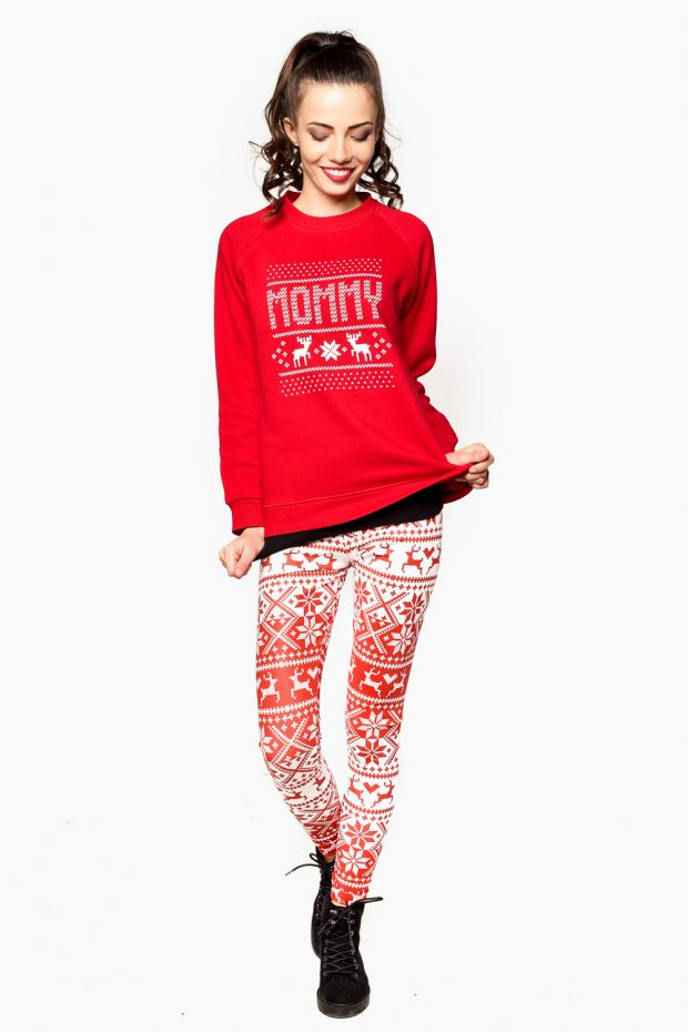 Women's Sweatshirt X-MAS MOMMY