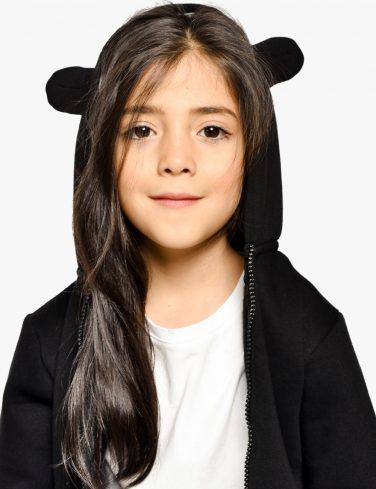 Kids Bear Ears Hoodie BABY BEAR