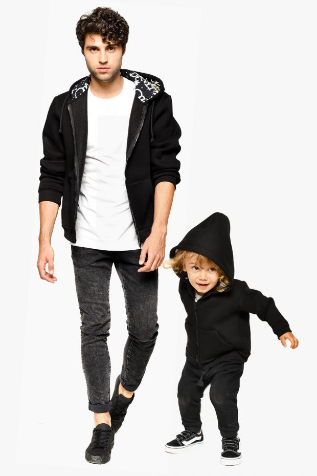 Kids Hooded Sweatshirt BROOKLYN