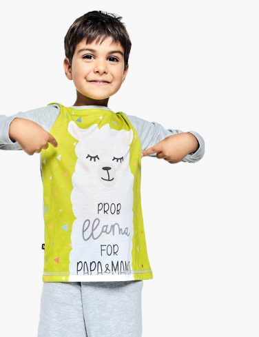 Kids Pajama DRAMA LLAMA