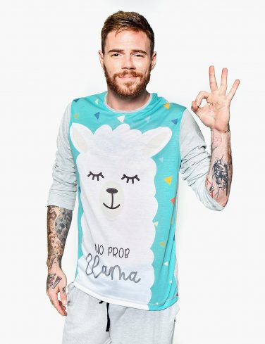 Men's Pajama DRAMA LLAMA
