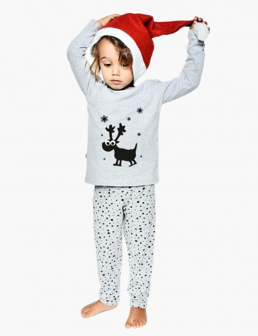 Kids Holiday Pajama Set FLAKE