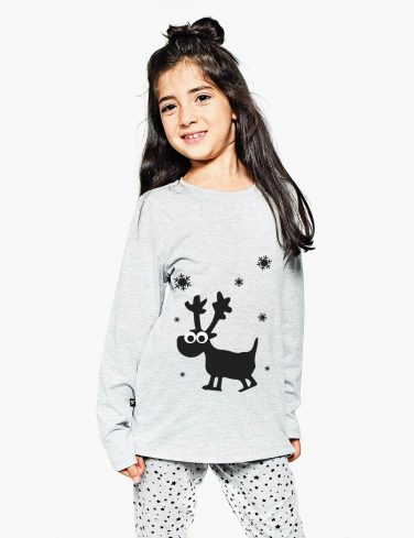 Kids Holiday Pajama Set FLAKE