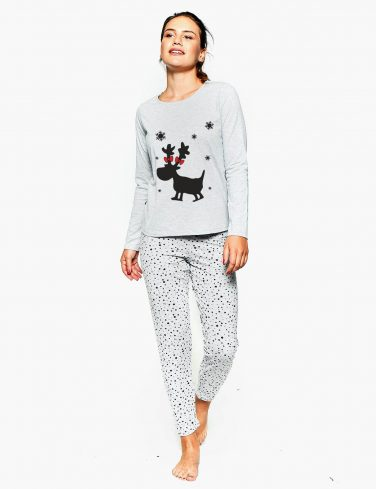 Women's Holiday Pajama FLAKE