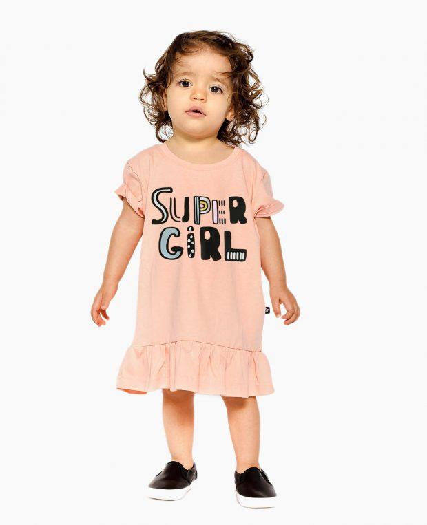 Girls Dress SUPER GIRL