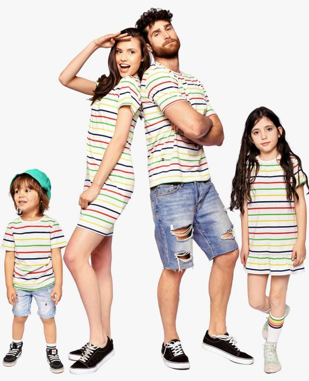 Kids Striped T-Shirt TOMMY