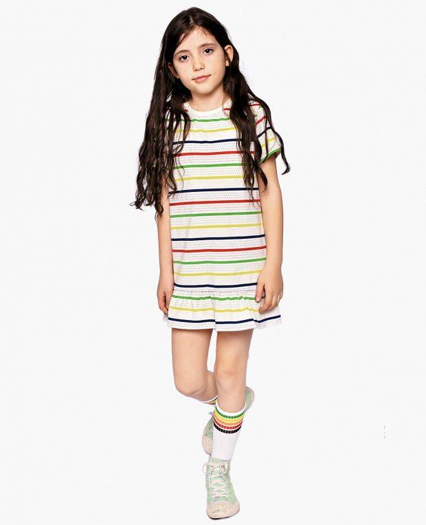 Girls Striped Dress TOMMY