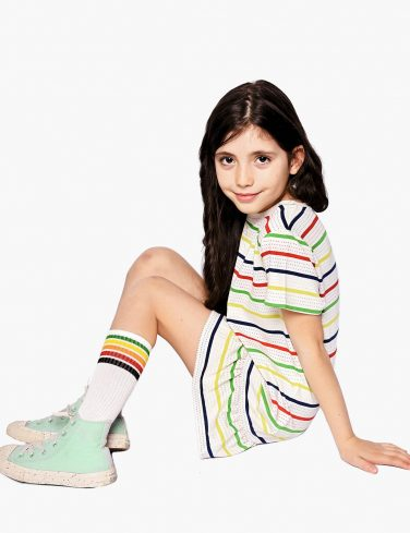 Girls Striped Dress TOMMY