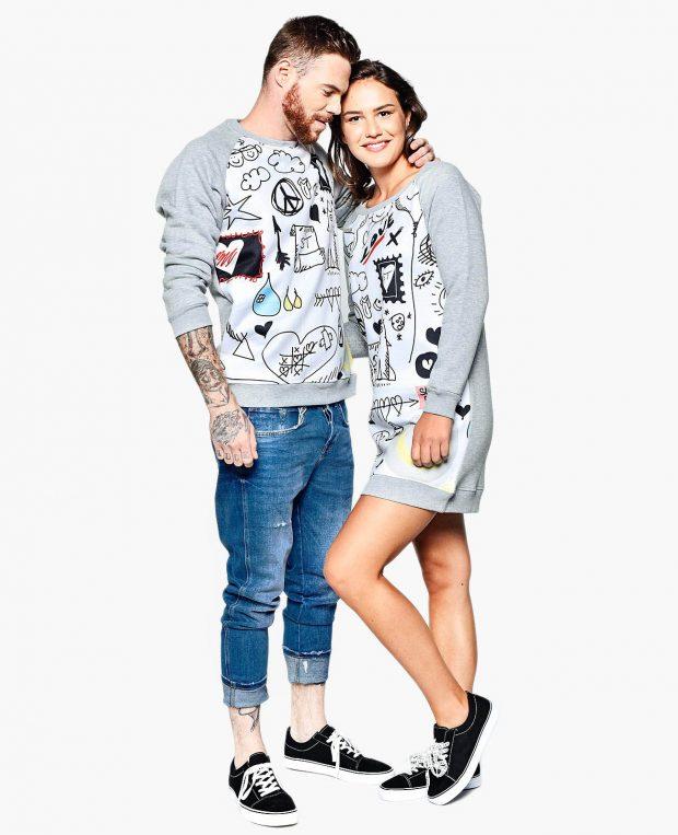Men's Sweatshirt DOODLE