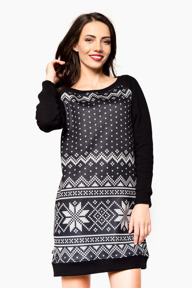 Women's Sweatshirt Dress WINTER