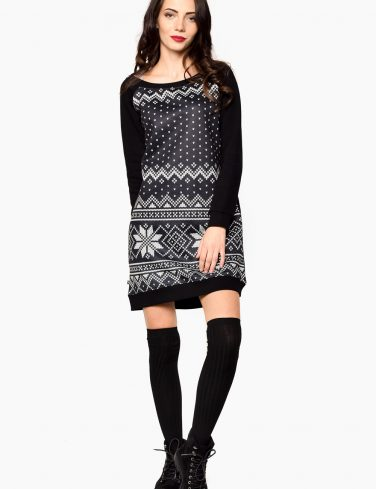 Women's Sweatshirt Dress WINTER