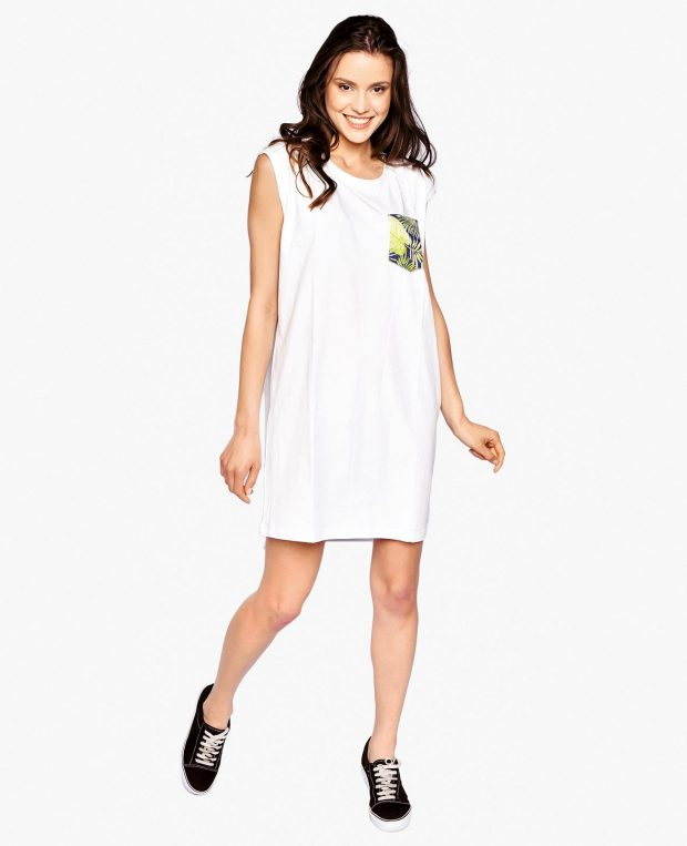 Women's Pocket Dress TROPICANA