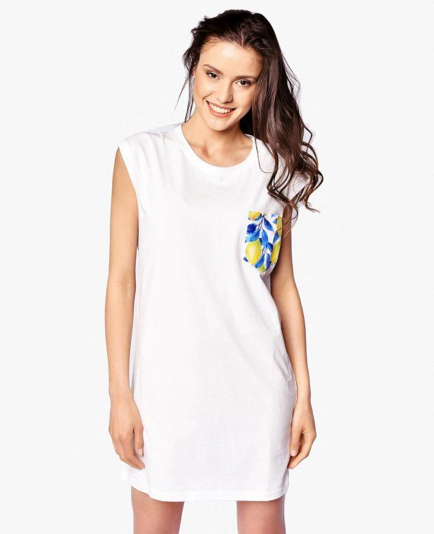 Women's Pocket Dress LEMONS