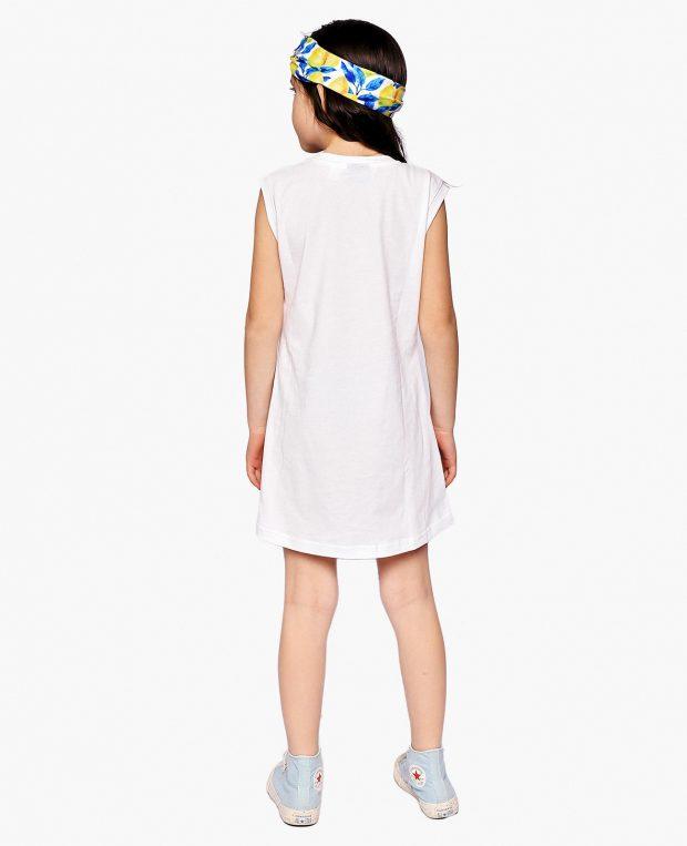 Girls Pocket Dress LEMONS