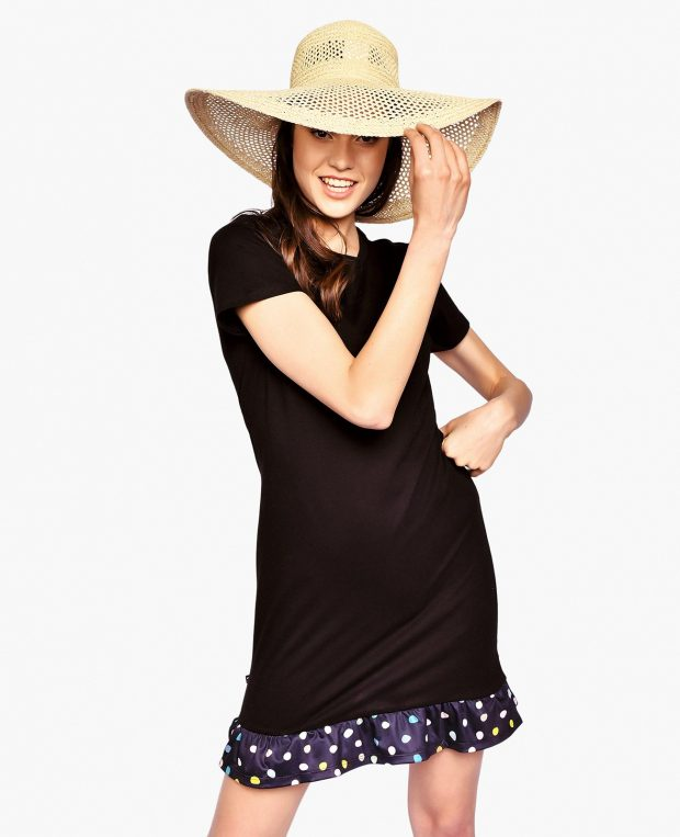 Women's Flounce Hem Dress PEBBLES