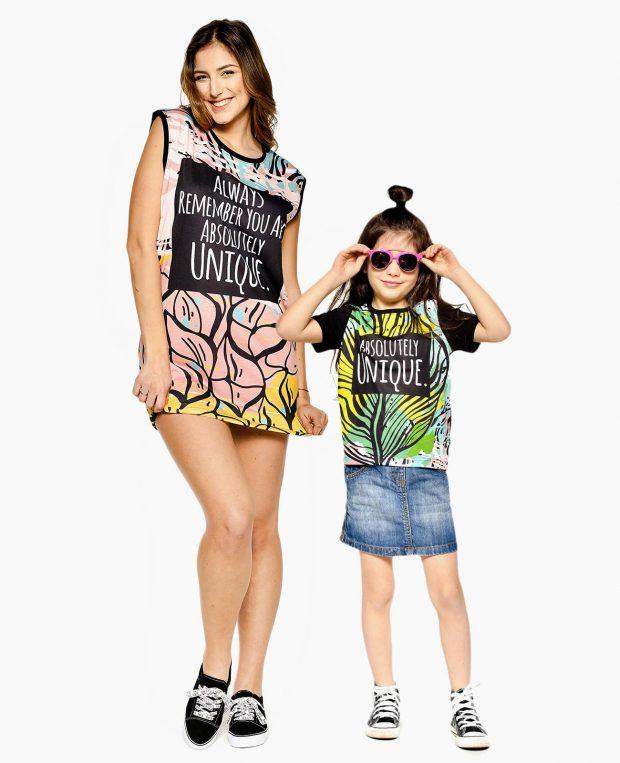 Women's Printed Dress UNIQUE