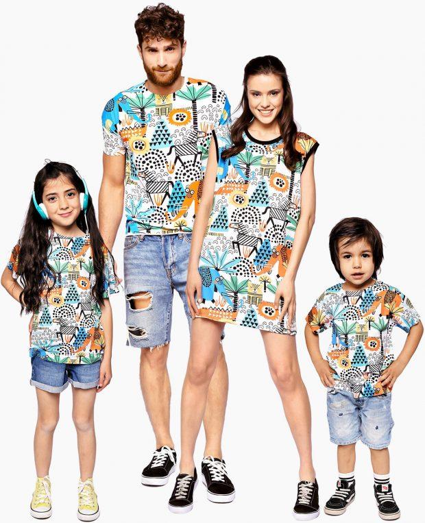 Kids Printed T-Shirt AFRICA