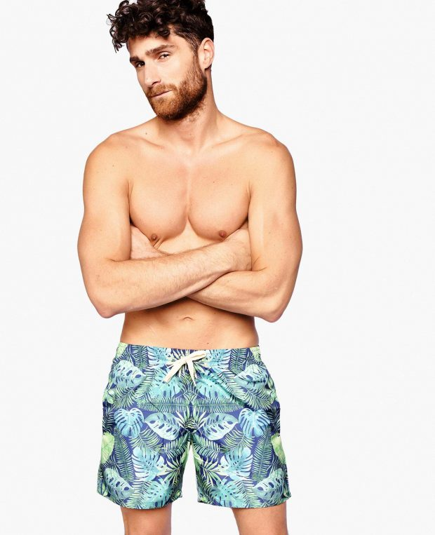 Men's Swimming Shorts TROPICANA