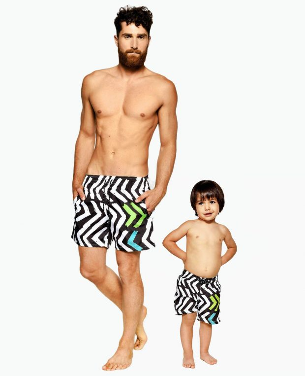 Men's Swim Shorts SHAPE OF YOU
