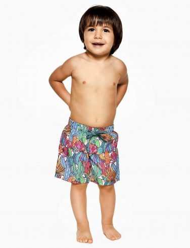 Boys Printed Swim Shorts CACTUS