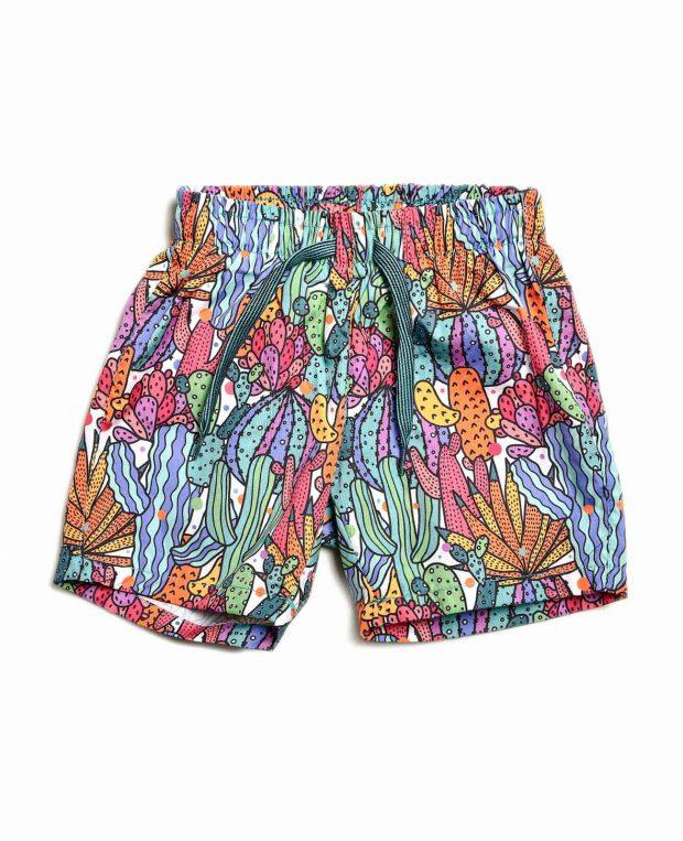 Boys Printed Swim Shorts CACTUS