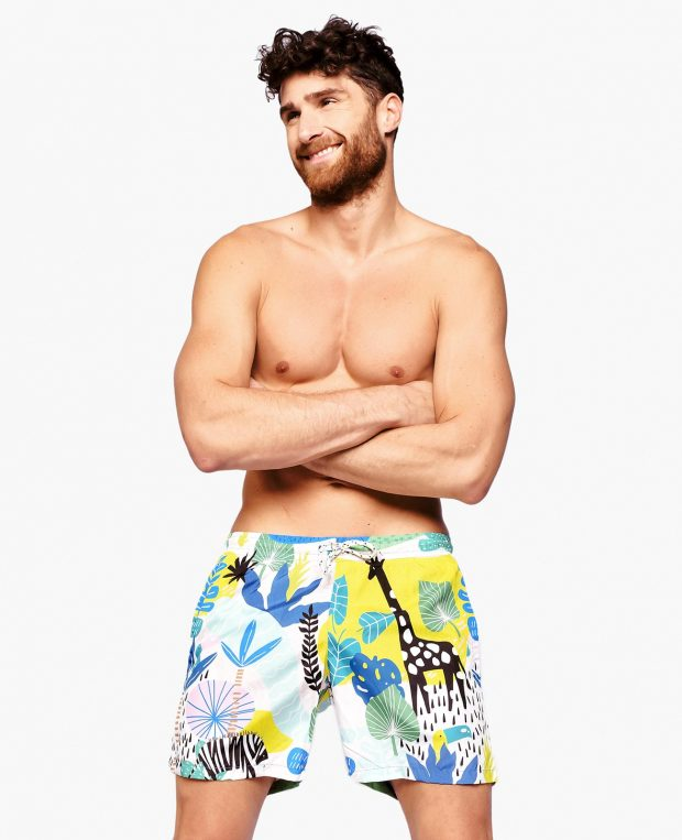 Men's Swim Shorts SAFARI