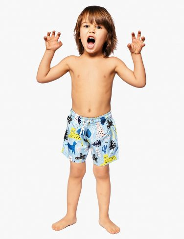 Boys Animal-Print Swim Shorts HAKUNA MATATA