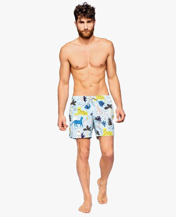 Men's Pattern Swim Shorts HAKUNA MATATA