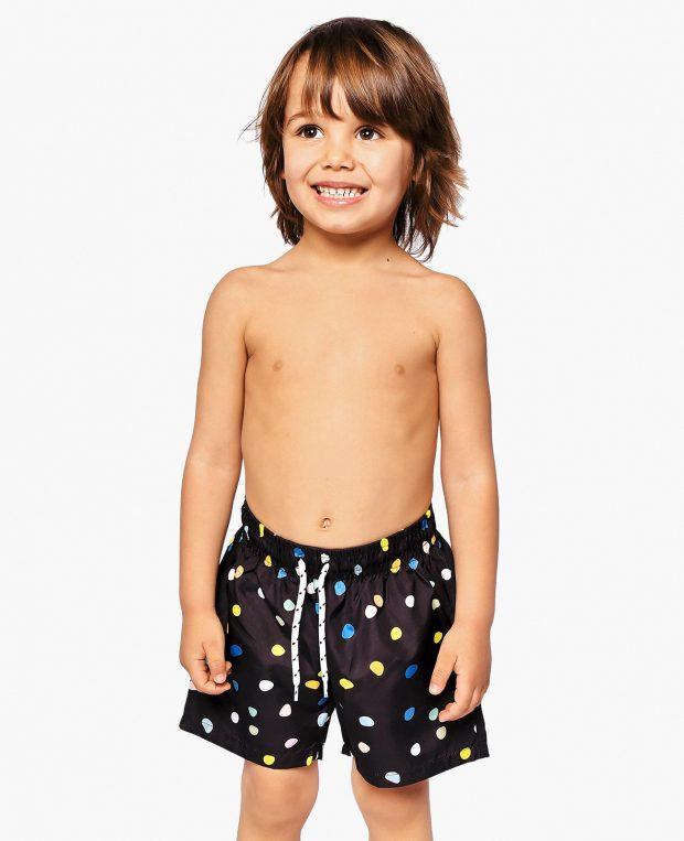 Boys Patterned Swim Shorts BAM BAM