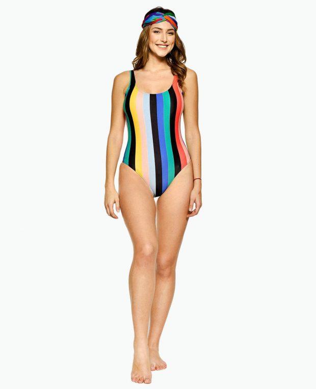 Women's Low Cut Swimsuit IBIZA
